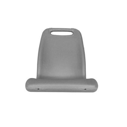209901012 POLTRONA PLASTICA INDIVIDUAL P/ONIBUS URBANO CINZA