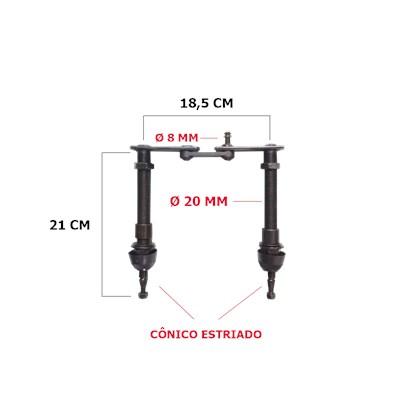 8706 MANCAL LIMPADOR MARCOPOLO G7 TODOS MODELOS 13720001