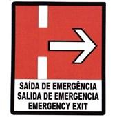 ADESIVO INDICACAO SAIDA EMERGENCIA LD 273003785