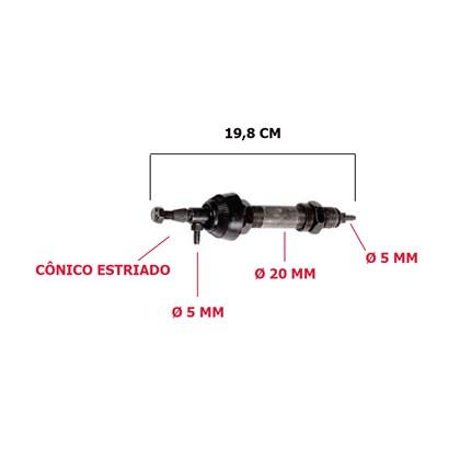 EIXO AUXILIAR LIMPADOR RODOVIARIO G6/NEOBUS/COMIL 8675