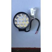 FAROL AUXILIAR 14 LEDS 12/24V FLU742