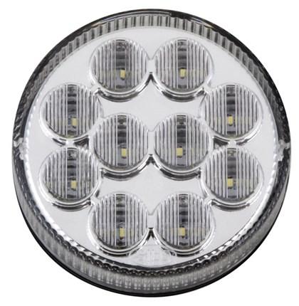 LANTERNA LED TRASEIRA CRISTAL LUZ DE RE CAIO BUSSCAR IBRAVA  Ø96mm 808302