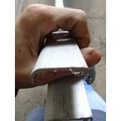 PERFIL PVC ACABAMENTO MATA JUNTA BUSSCAR ANO 95 CINZA 1134230