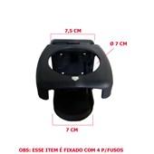 PORTA COPO MOVEL C/LOGOTIPO CINZA CHUMBO IRIZAR PCM39111B